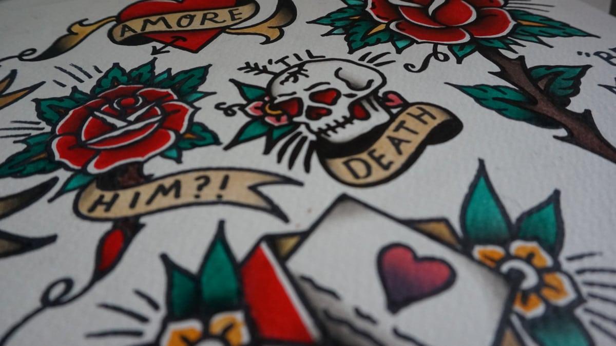 Tatuajes de Mentira