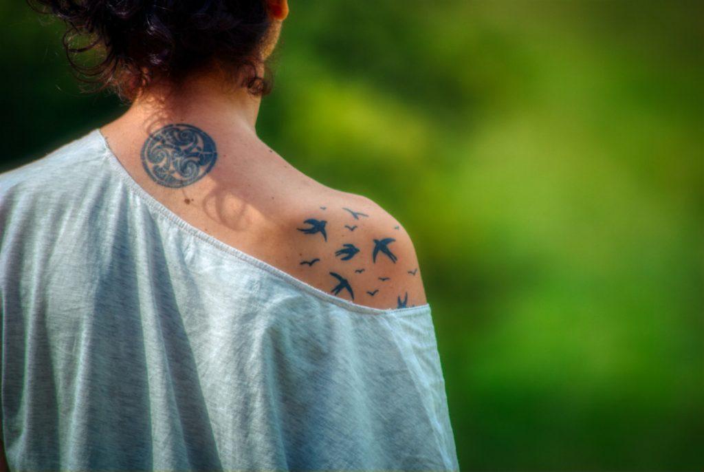 Tatuajes de Pájaros Volando