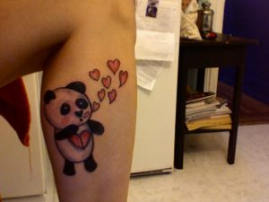 Tatuajes de Panda