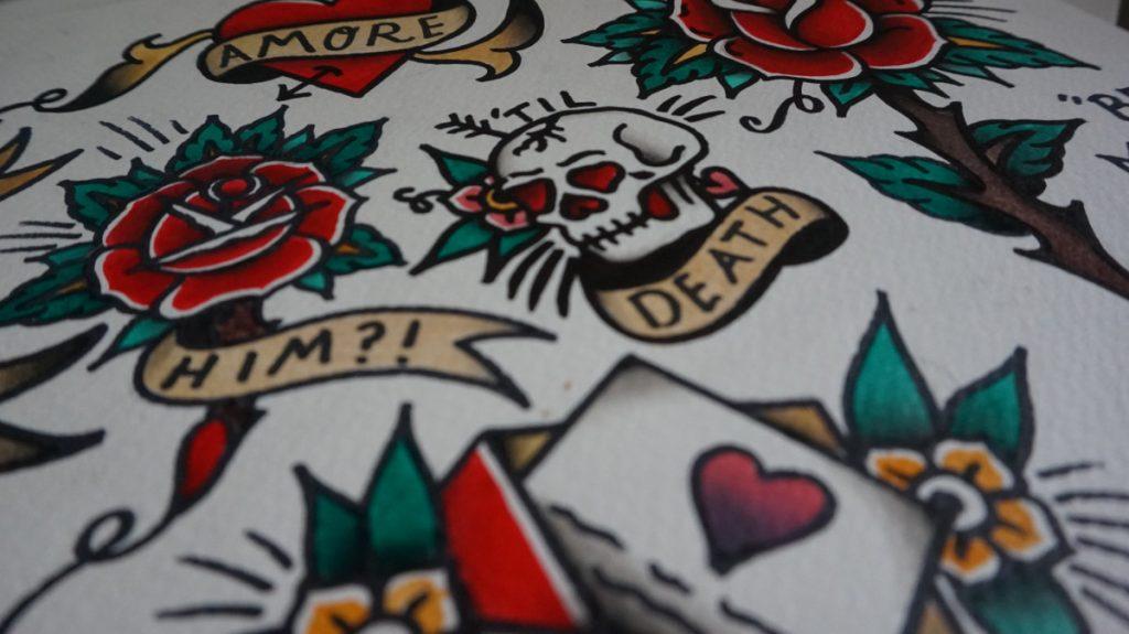 Tatuajes Grandes Tradicionales