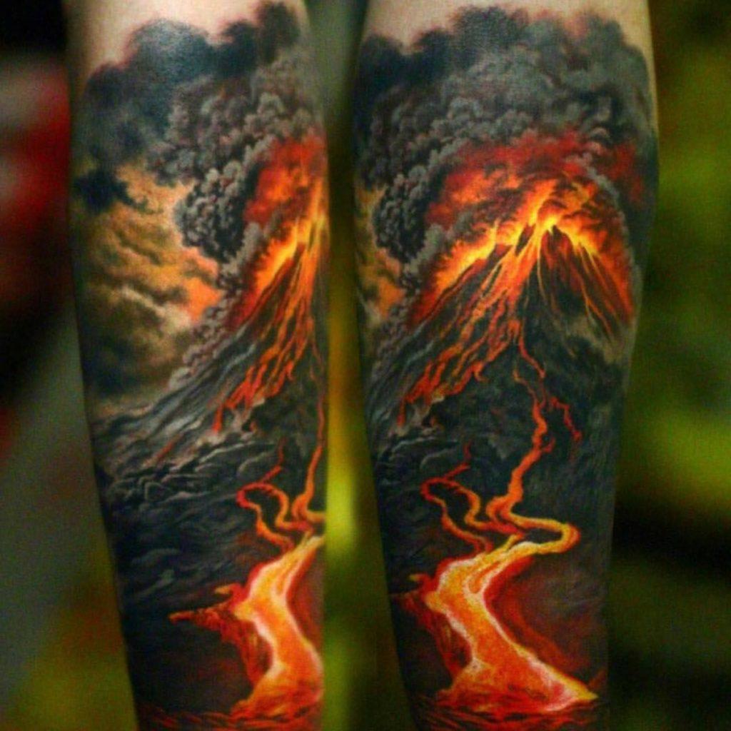 Tatuajes Impresionantes Montaña
