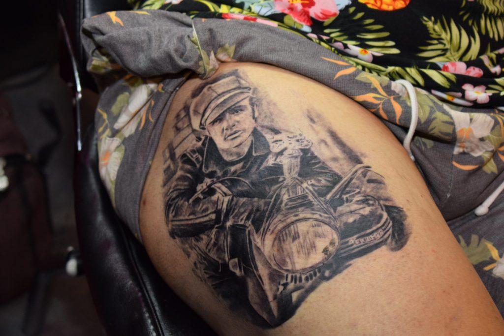 Tatuajes Impresionantes Moto
