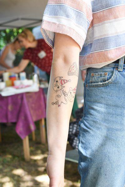 Tatuajes Infantiles Brazo