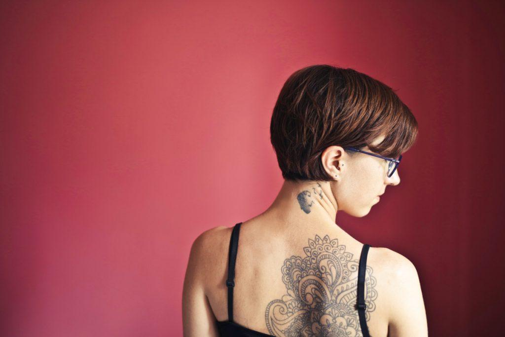 Tatuajes y Religión Espalda