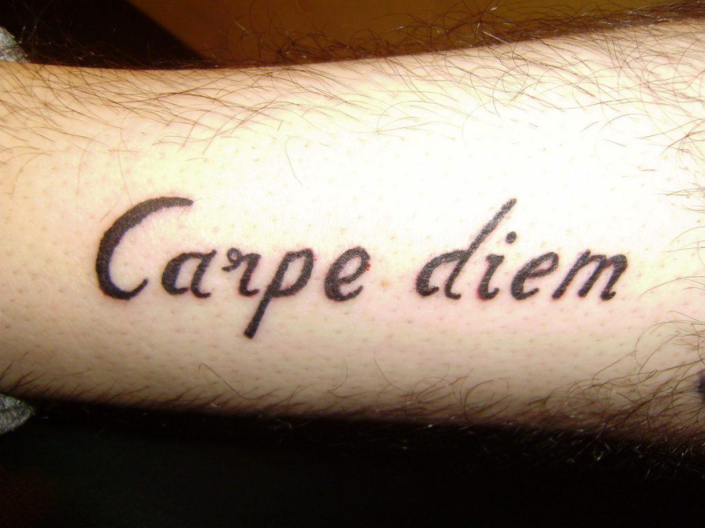 Frases Carpe Diem