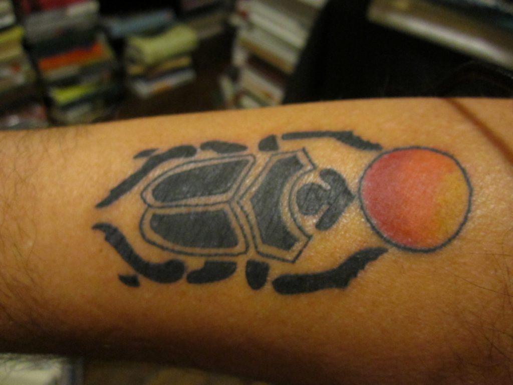 Simbología Egipcia Escarabajos