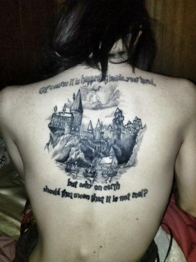 Símbolos Harry Potter Castillo