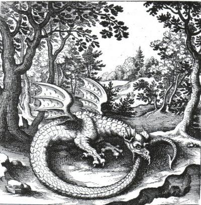 Tatuaje de Uroboro Dragón