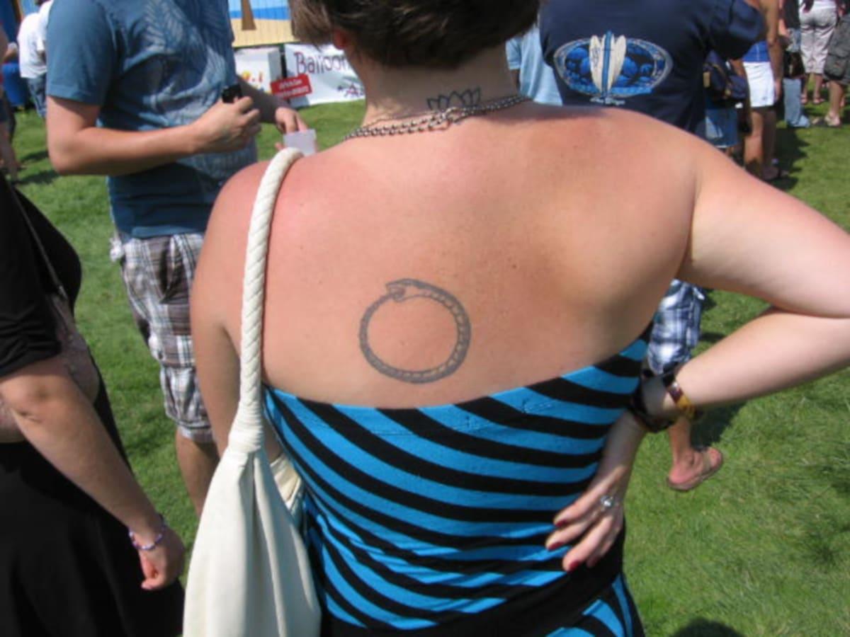 Tatuaje de Uroboro