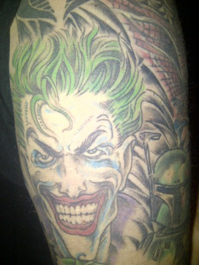 Tatuaje Joker Cómic