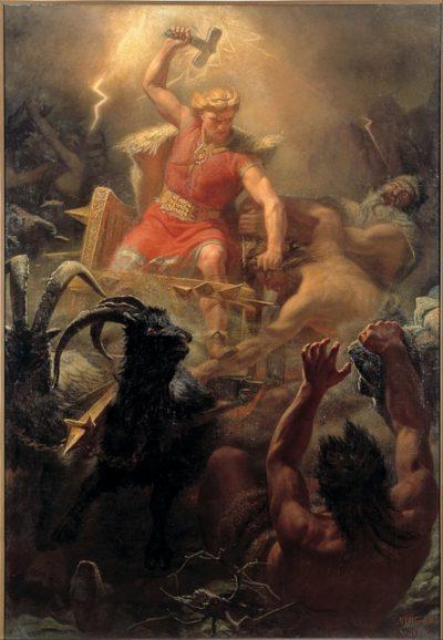 Tatuajes de Símbolos Vikingos Thor