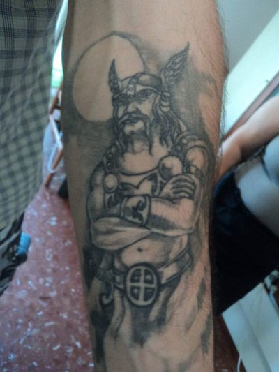 Tatuajes de Vikingos Guerreros