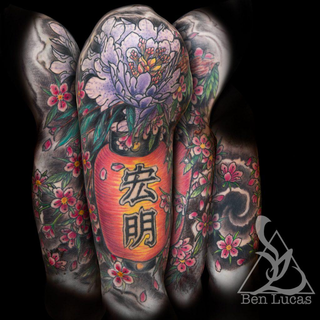 Tatuajes en Japonés Grande
