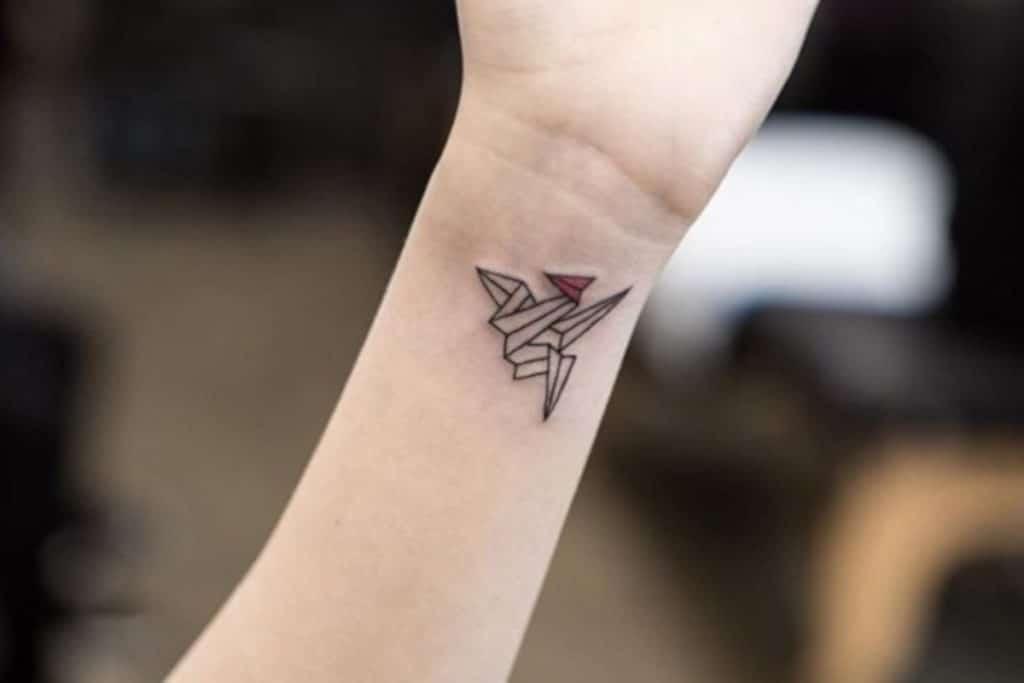 Tatuajes Japoneses Pequeños Origami