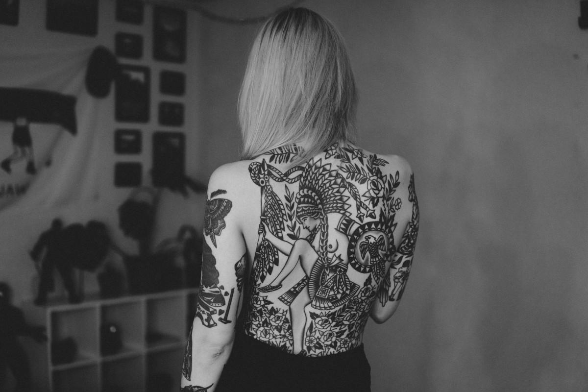 Tatuajes Old School Blanco y Negro