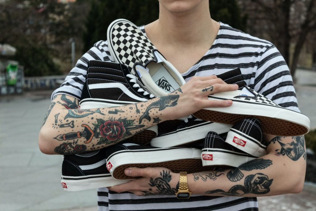 Tatuajes Tradicionales Zapatos