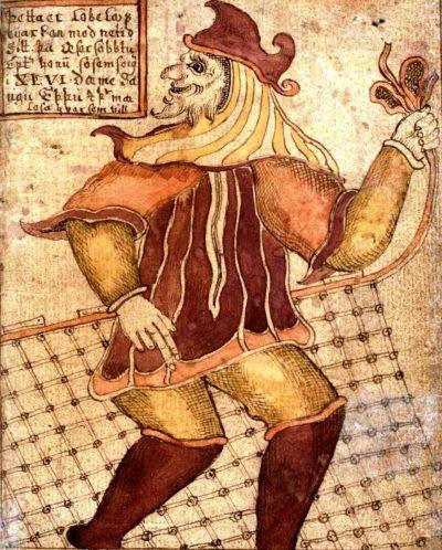 Tatuajes Vikingos Loki Red