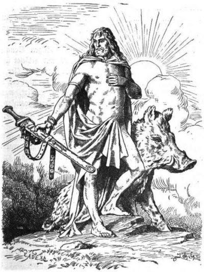 Runa Inguz Freyr