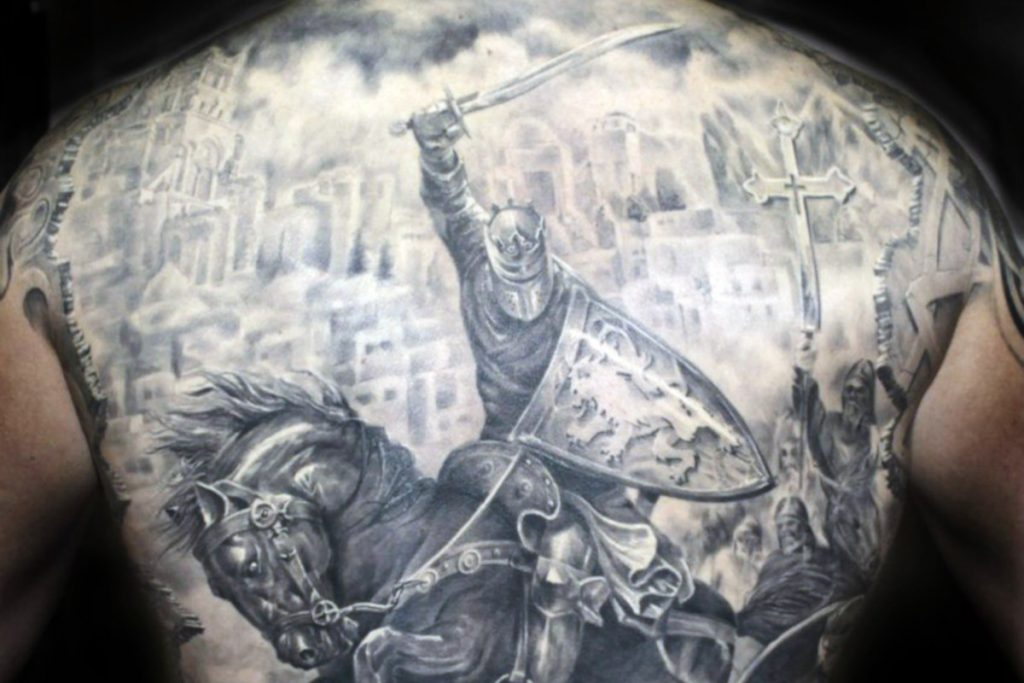 Tatuaje Armadura