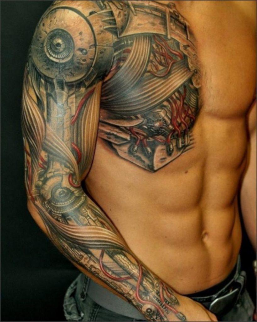 Tatuaje Armadura Pecho