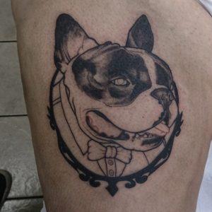 Tatuaje Bulldog Francés