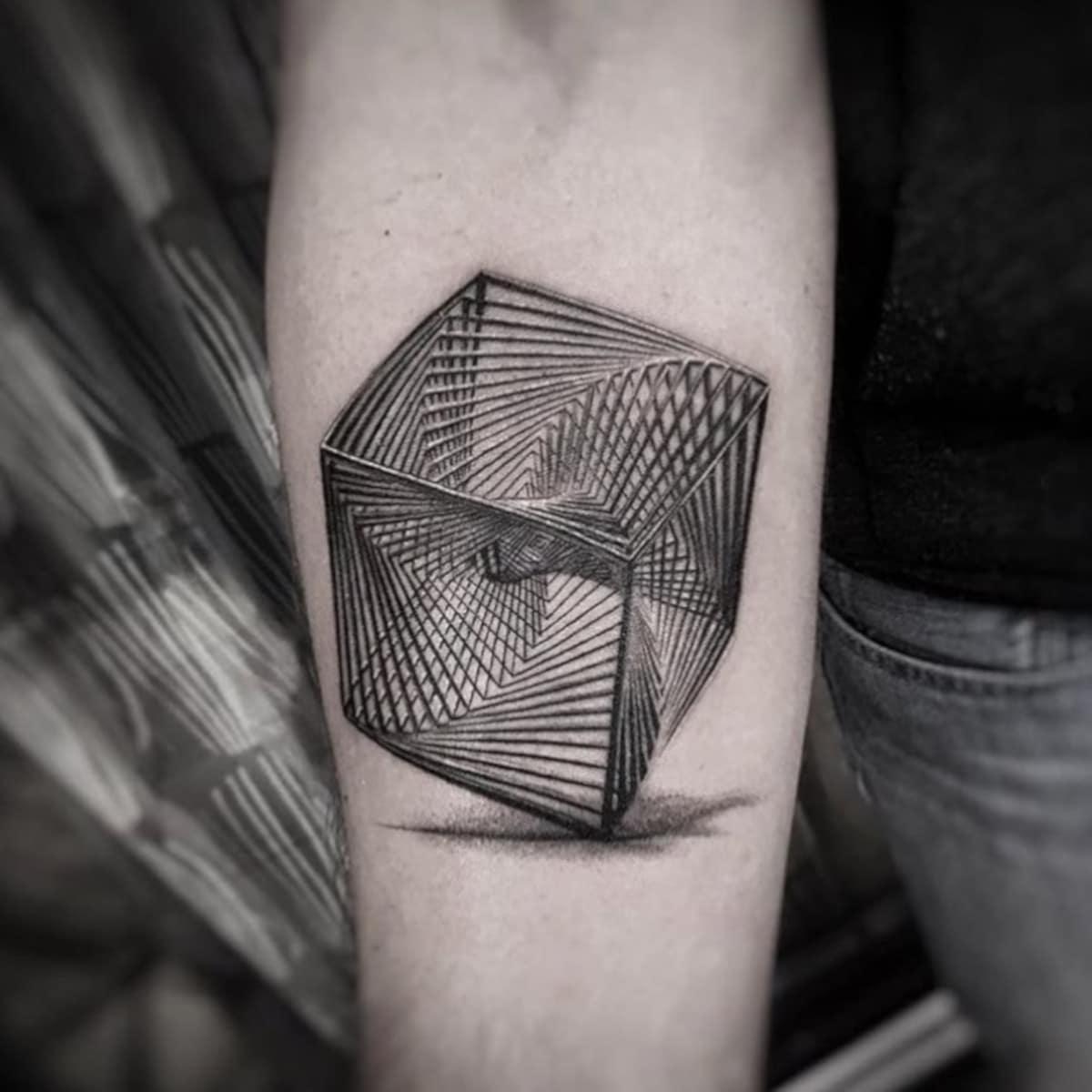 Tatuaje Cubista
