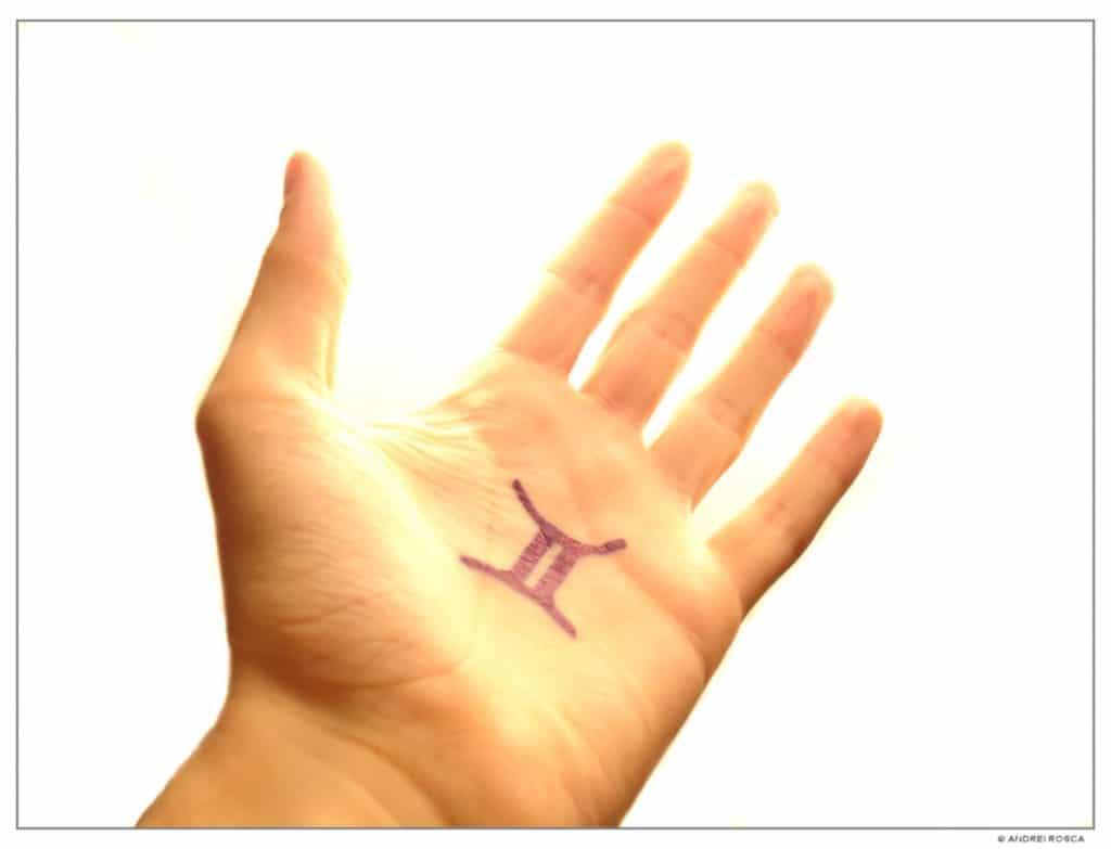 Tatuaje de Géminis