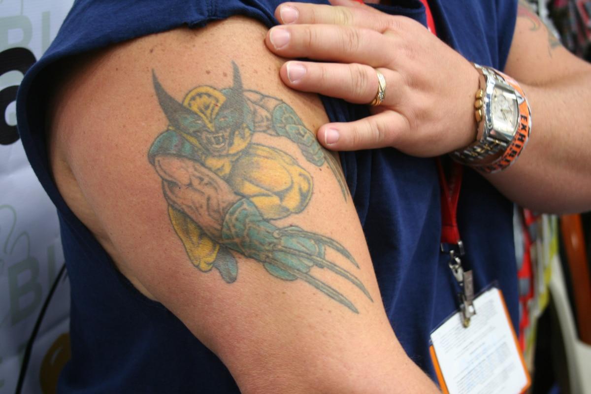 Tatuaje Marvel
