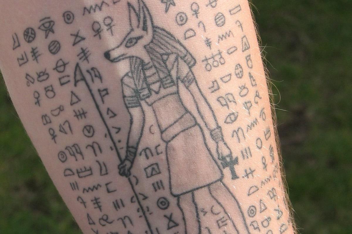 Tatuaje de Nefertiti