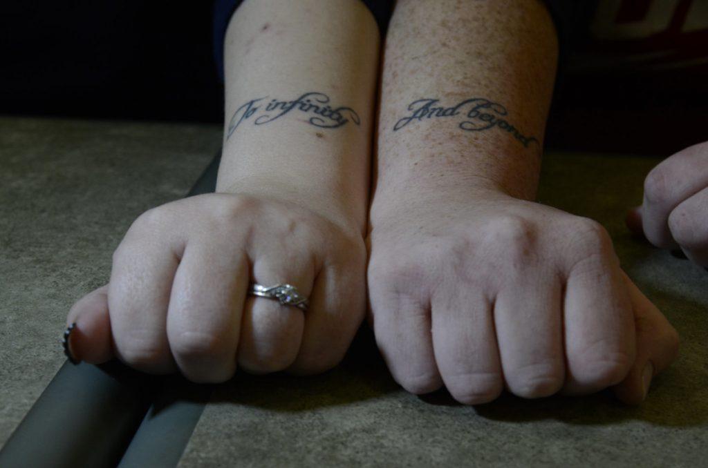 Tatuajes de Novios Frase