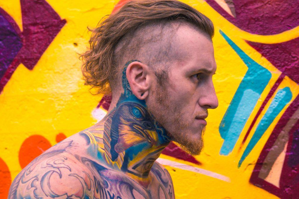 Tatuajes Semipermanentes Cuello