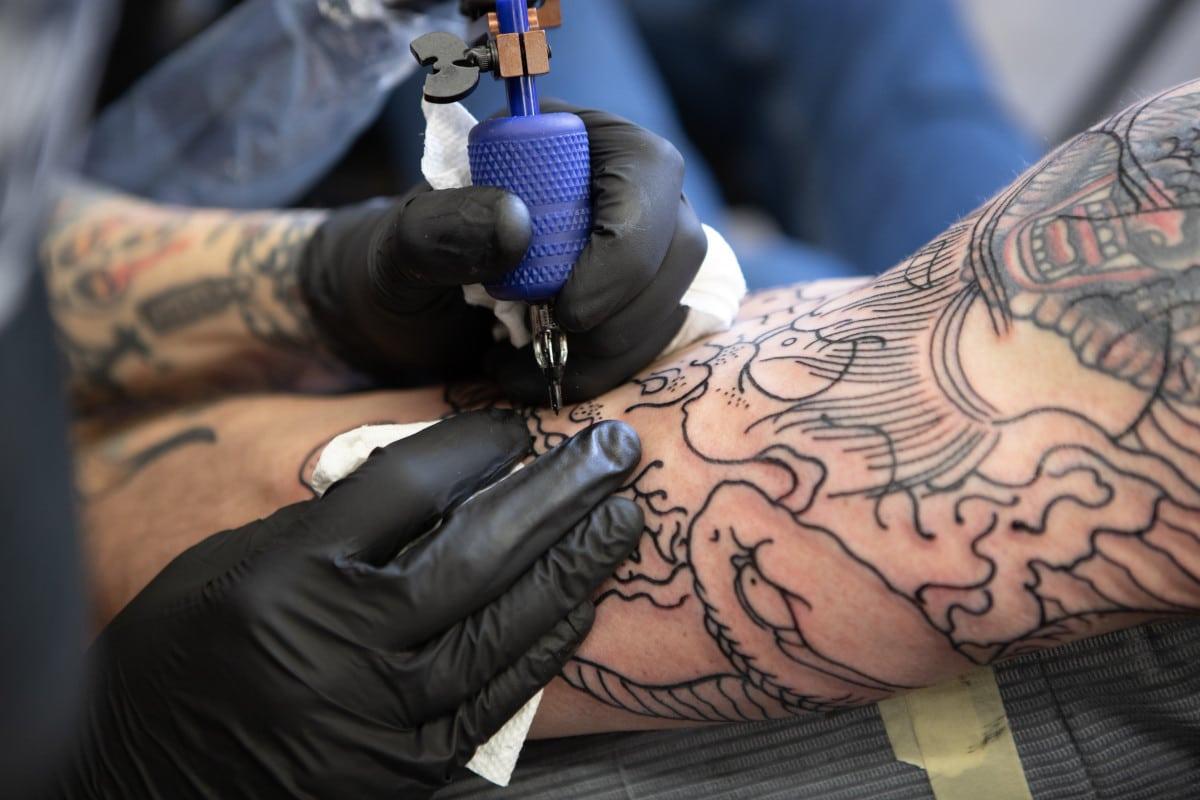 Máquina de Tatuar Rotativa