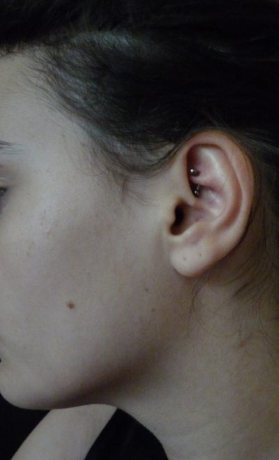Piercing Rook Vertical
