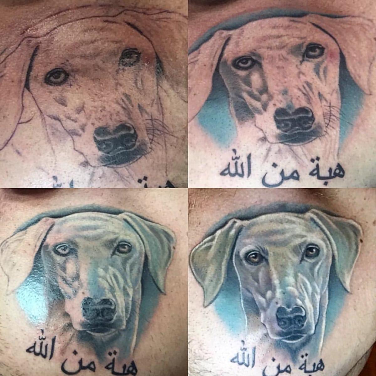 Tatuaje de Beagle