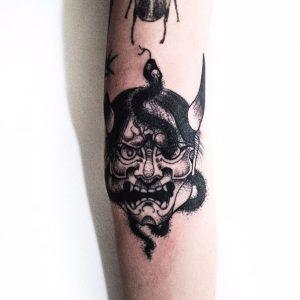 Tatuaje de Hannya