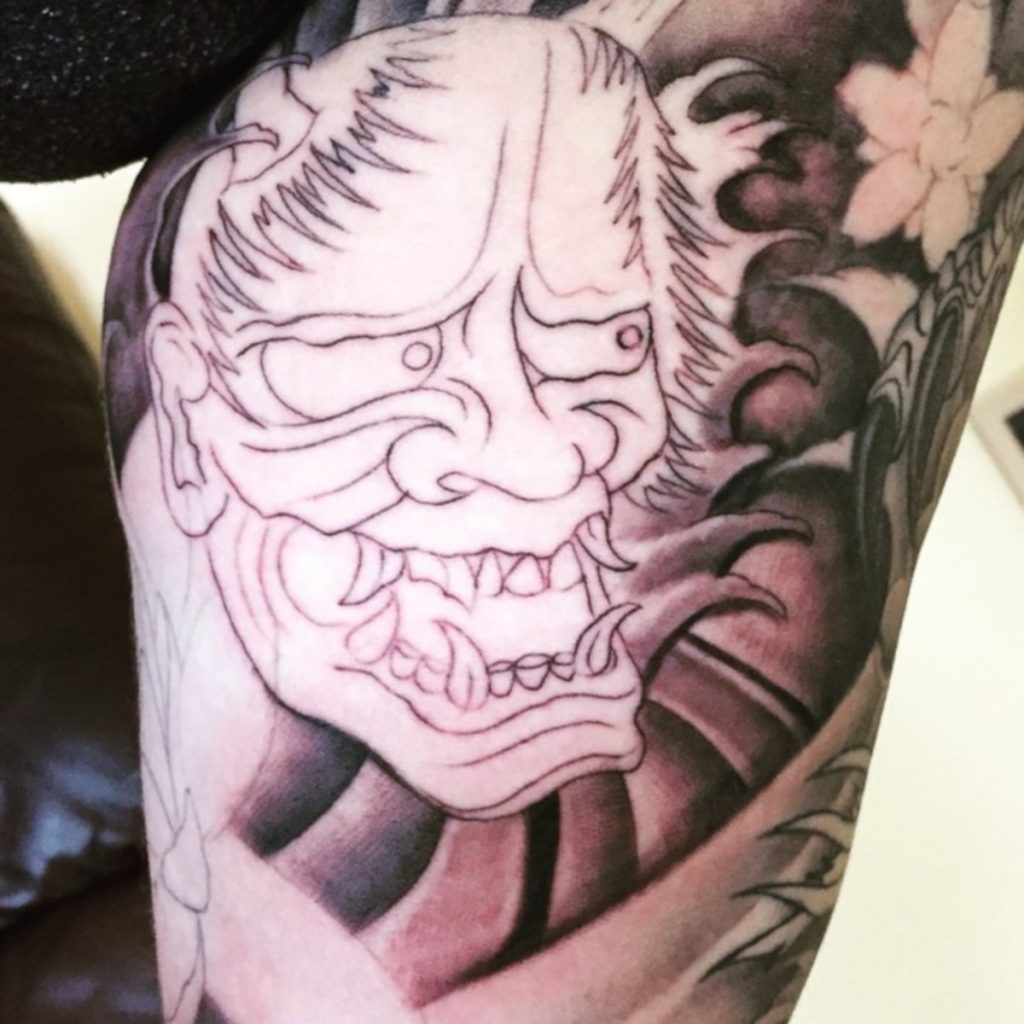 Tatuaje de Hannya Sin