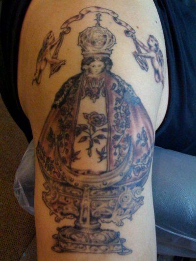 Tatuaje Virgen San