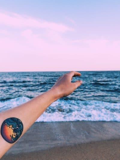 Tatuajes de Buceo Mar