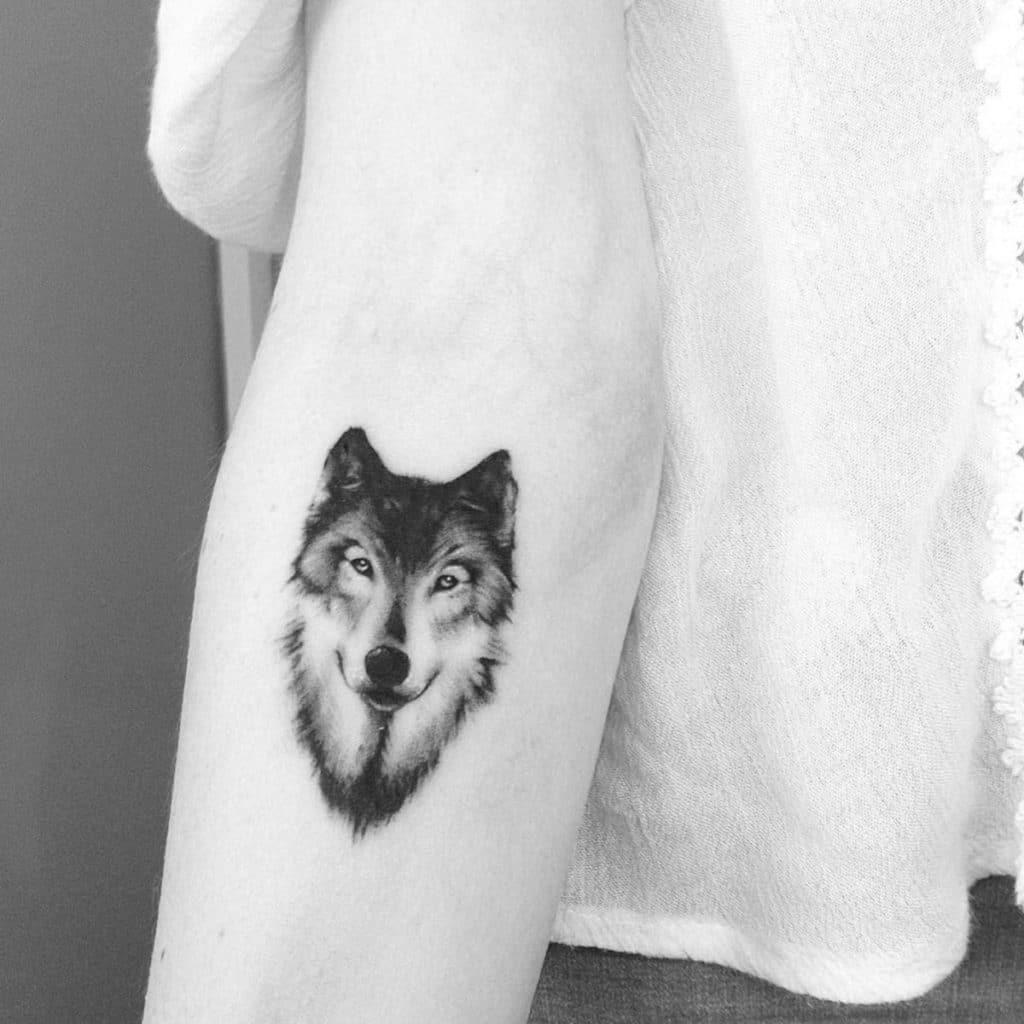 Tatuajes de Coyote Blanco