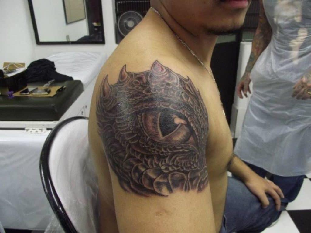 Tatuajes de Dragón Ojo