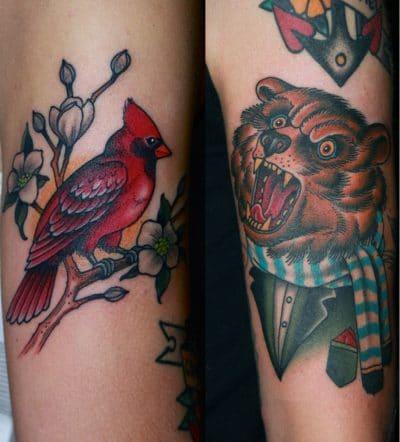 Tatuajes de Osos Feroz