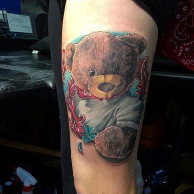 Tatuajes de Osos Peluche
