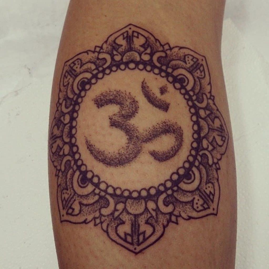 Tatuajes de Yoga Om