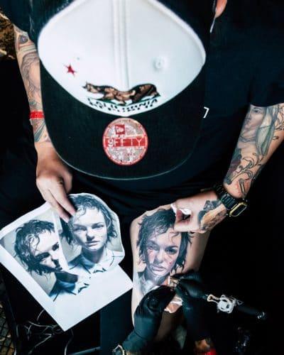 Tatuajes Increíbles Pierna