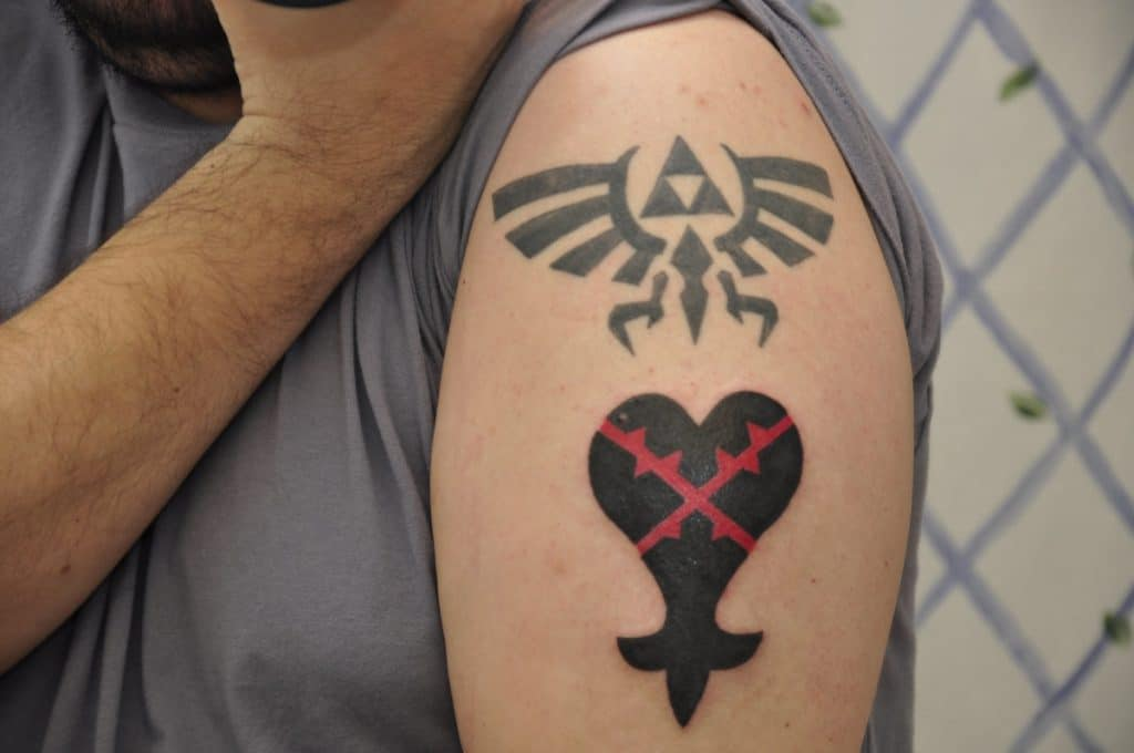 Tatuajes Kingdom Hearts