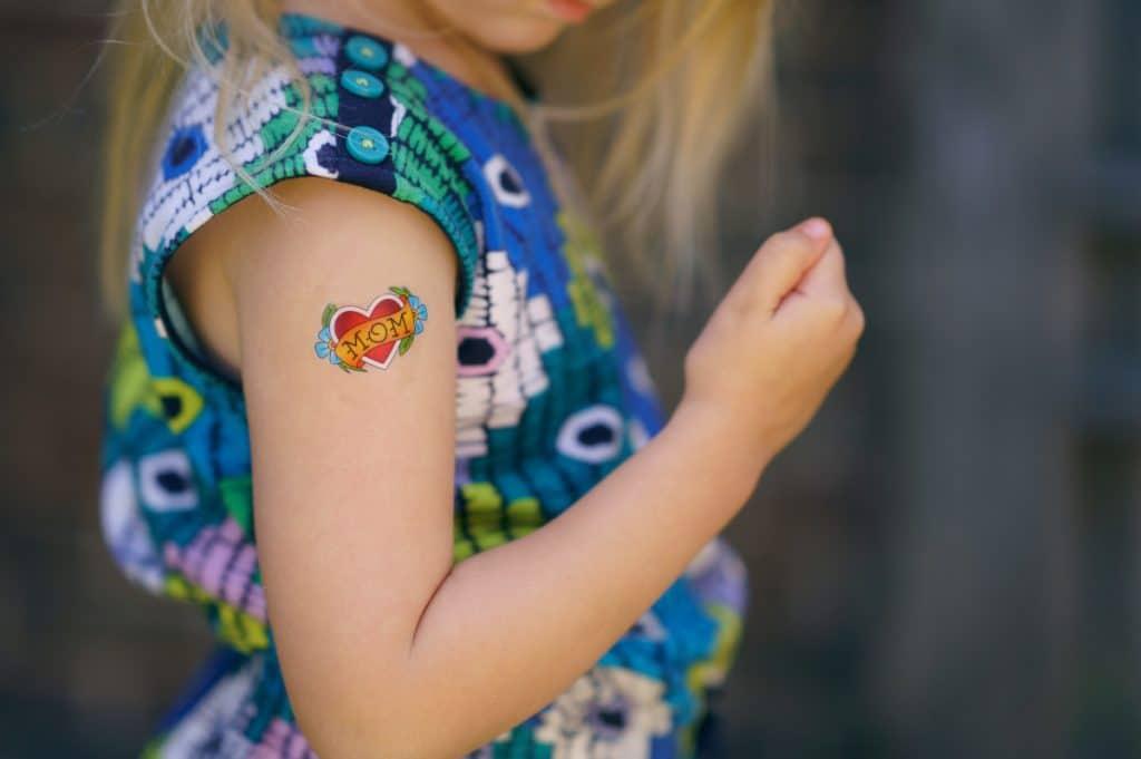 Tatuajes para Niñas Brazo