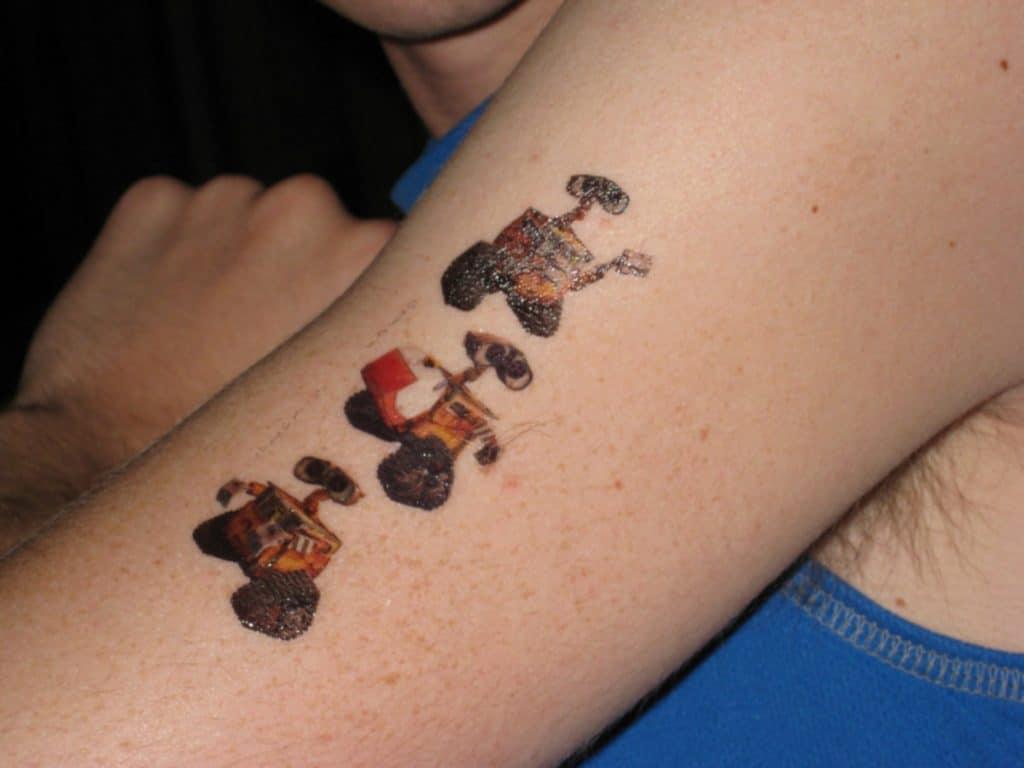 Tatuajes para Niñas Wall E