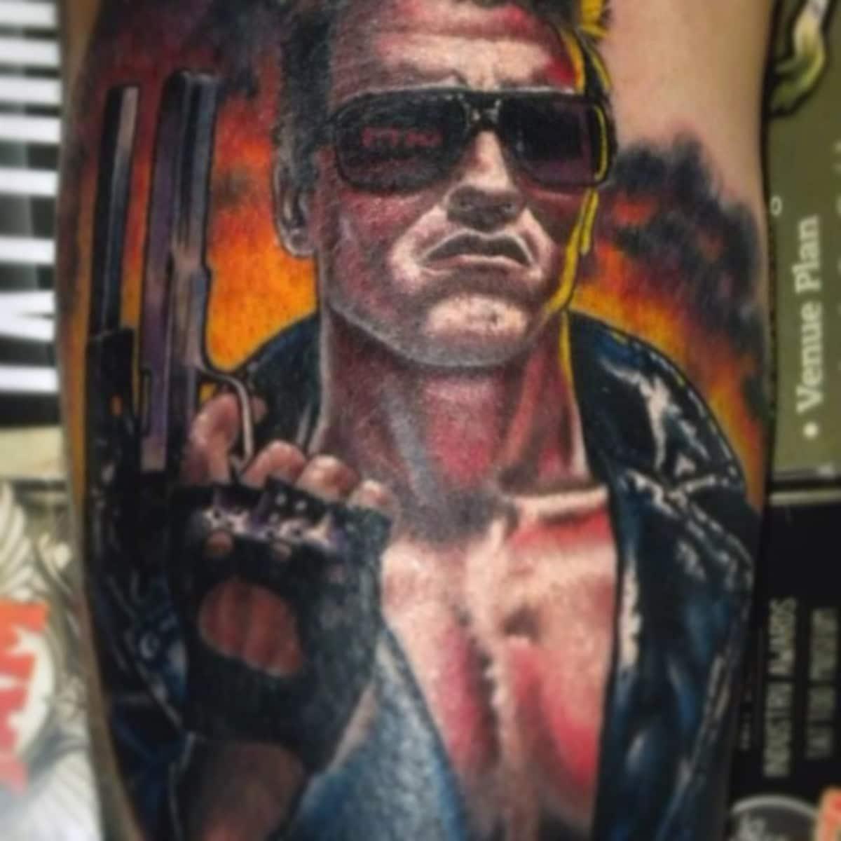Tatuajes de Terminator