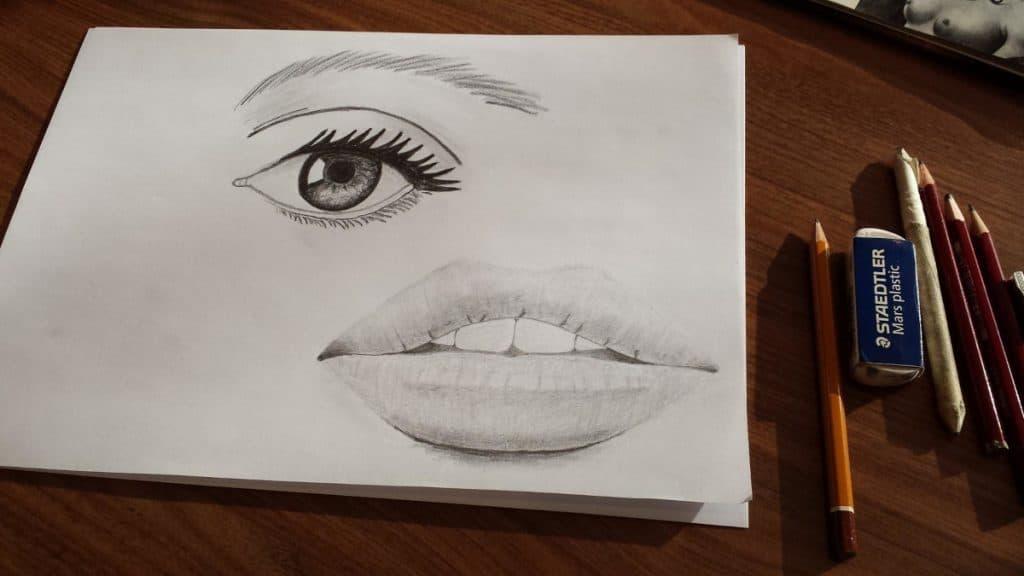 Dibujos Sombreados Lápiz