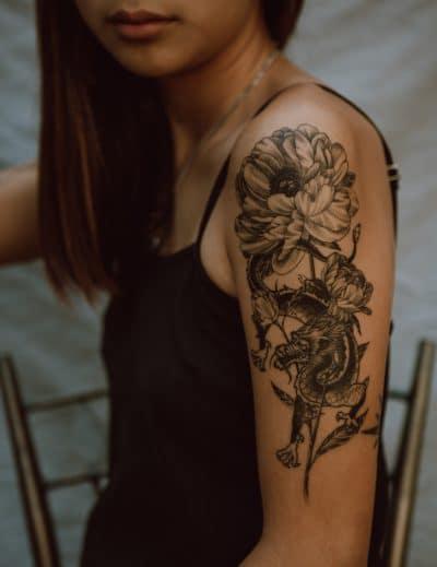 Diseños de Tattoos Flores